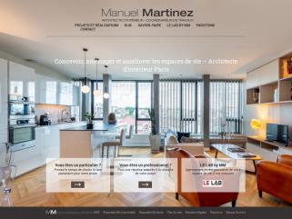 Manuel Martinez : Architecte d'intérieur Paris