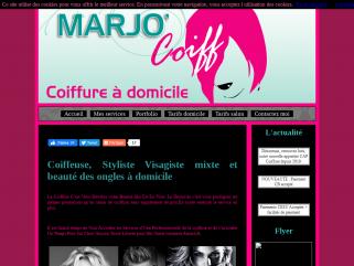 Marjo'Coiff - coiffure à domicile