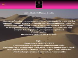 Certificat de massage