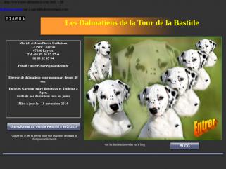 Les dalmatiens de la Tour de la Bastide