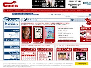 Billet reduction spectacles - Mesbillets.com