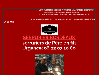 Serrurier Bordeaux Cauderan