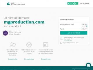 MG Production - L'innovation au service de votre communication