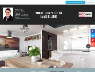 Michel Gagné Courtier immobilier résidentiel Recherche par carte