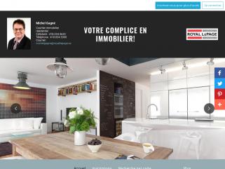 Michel Gagné Courtier immobilier résidentiel