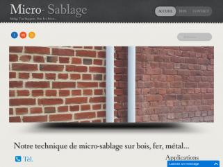 Micro-sablage
