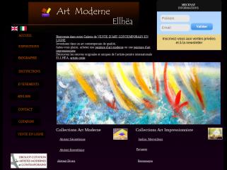 Galerie d'art moderne contemporain ELLHËA - vente d'oeuvres d'art originales