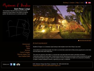 Mystères d'Angkor - Lodge et Restaurant a Angkor