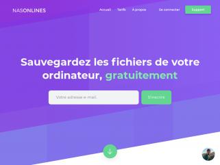 Nasonlines.com, votre serveur nas en ligne, simple et illimité - stockage et gestion de données