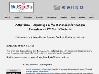 Votre assistance informatique à domicile sur Cannes et environs