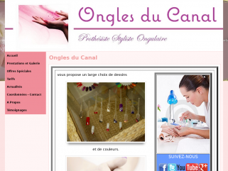 Ongles du Canal