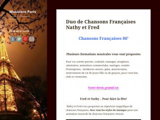 Duo de Chansons Françaises Nathy et Fred