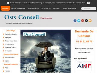 Osis Conseil, cabinet de gestion de patrimoine financier et immobilier, spécialiste de l'immobilier neuf et de l'immobilier réhabilité.