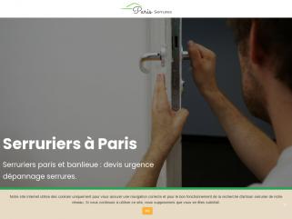 Serruriers paris et banlieue : urgence dépannage serrures.