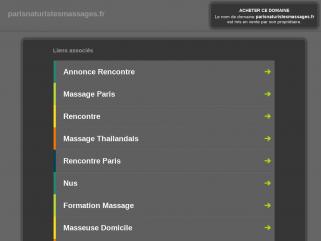 Massages Paris, massages naturistes, erotiques et sensuels à Paris