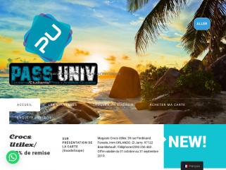 Carte Pass Univ