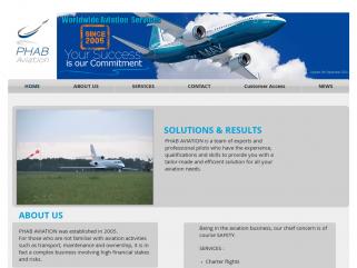 Phab Aviation - vol à la demande -