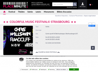 PLACEMINUTE  ►► COLORFUL MUSIC FESTIVAL© STRASBOURG ◄◄