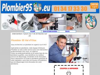 Plombier 95 - Plombier Val d'Oise