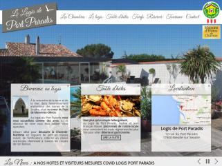 Le logis de port paradis - location de chambres d hote de charme en charente maritime