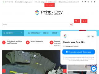 Print-city; est l'imprimerie en ligne de HERCOS-Group