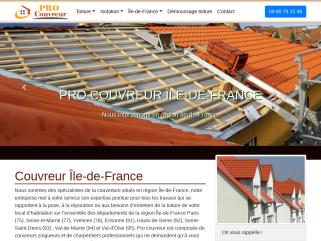 Artisan couvreur : Entreprise de couverture toiture Île-de-France