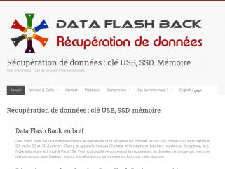 Data Flash Back, laboratoire de récupération de données à Paris.Diagnostic et devis gratuits.
