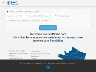 Petites annonces Récifale - ReefStand.com