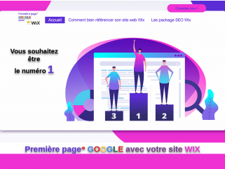 Référencement Wix, Premiere Page Google avec Wix, agence spécialisée Wix France