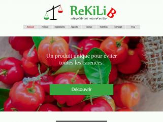 ReKiLiB,  Le seul produit 100 % naturel