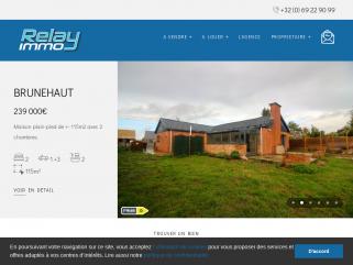 Relay Immo agence immobilière à Tournai, Mouscron et Ath.