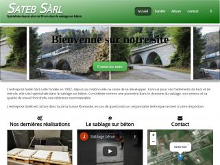 Sateb SARL Suisse | Rénovation de résidences et bâtiments - Traitement des matériaux (bois, charpentes, métal, pierre), Rénovation des bâtiments(sablage, peinture, vitrerie), Peintu