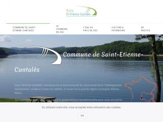 Commune de Saint-Etienne-Cantales dans le Cantal. Chataigneraie Cantalienne