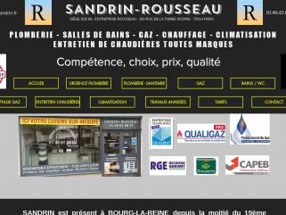 ENTREPRISE SANDRIN ROUSSEAU Dépannage & urgence plomberie 7j/7 Bourg la Reine et communes limitrophes