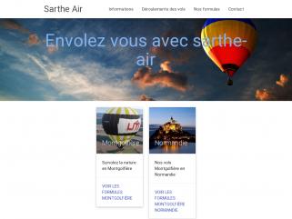 Sarthe-air vol en montgolfiere