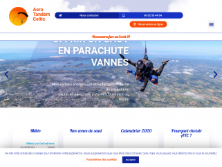 Saut parachute bretagne - Aero Tandem Celtic - Saut parachute Vannes