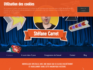 Magicien Drome, spectacle de magie|Scenomagie par stéfane carret|scenomagie.com