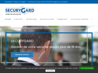 L'entreprise SecuryGard est certifiée Qualisécurité par l'AFNOR pour la sécurité privée, la surveillance, le gardiennage, la sécurité incendie sur toutes la région Auvergne-Rhône-Alpes.