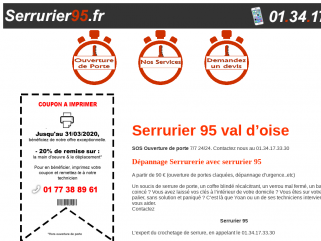 Serrurier 95 - Serrurier Val d'Oise