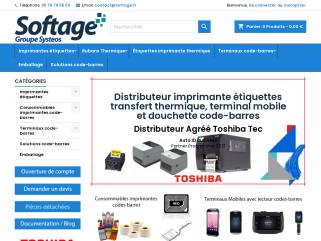 Solutions codes-barres | imprimante étiquettes | Douchette Softage.fr