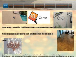 Entreprise de revêtements de sol en Corse. Résine polyuréthane et methacrylate.