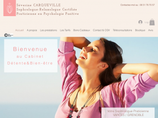 Séverine CARQUEVILLE, Sophrologue-Relaxologue Certifiée sur Varces,  Grenoble et ses alentours.