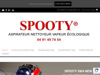 Spooty.fr vente de nettoyeur aspirateur vapeur