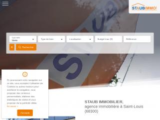 STAUB IMMOBILIER Agence immobilière Saint-Louis 68300-Alsace