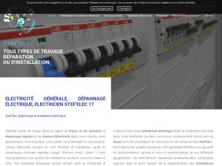 STEF ' ELEC : votre électricien en bourgogne