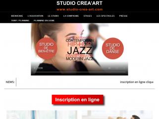 Bienvenue au studio de danse Crea art à CHAMALIERES