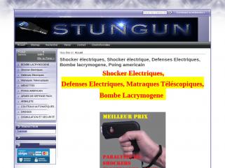 Shocker electriques , defenses electriques , armes de defense, poings electriques