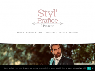 STYL'FRANCE - Robe de mariee Costume Hérault