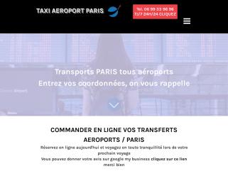 Taxi Paris aeroports, Taxi aeroport Paris,