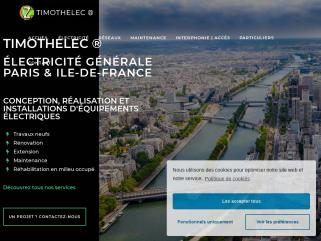 Electricien, entreprise d'électricité générale de bâtiment 36 rue Falguière 75015 PARIS